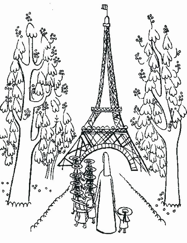 Eifel Tower Coloring Page Luxury Free Printable Paris Coloring Pages At  Getcolorings Coloring Pages For Kids, Coloring Pages, Christmas Coloring  Pages