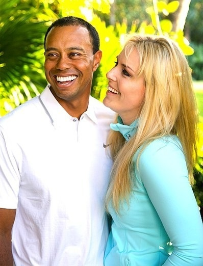 Lindsey Vonn: Tiger Woods is Number 1!!!!!!!!!!