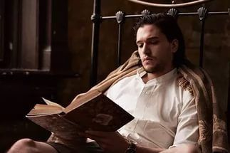 actor, game of thrones, and kit harington image