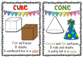 1000+ images about Math- Solids & Shapes on Pinterest