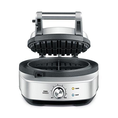 Breville BWM520XL The No Mess Waffle Maker Silver