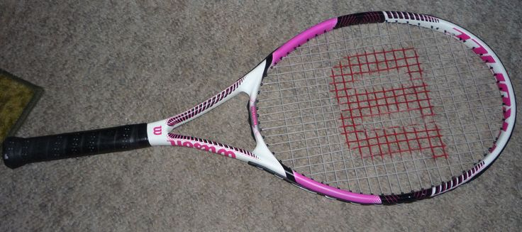 NEW WILSON PROFILE BOOST 110 SQ. IN. 10.2 oz TENNIS RACQUET 4 1/8 / 1  | Sporting Goods, Tennis & Racquet Sports, Tennis | eBay!