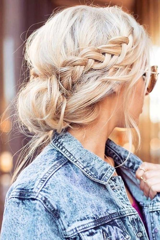See our collection of easy hairstyles that are just the perfect for spring break as it is the time to have fun.