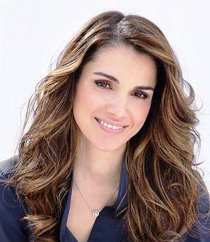 Queen Rania. hair!