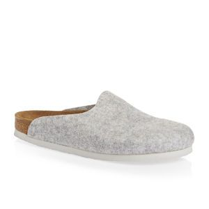 Birkenstock Amsterdam Women's Slippers - Light Grey