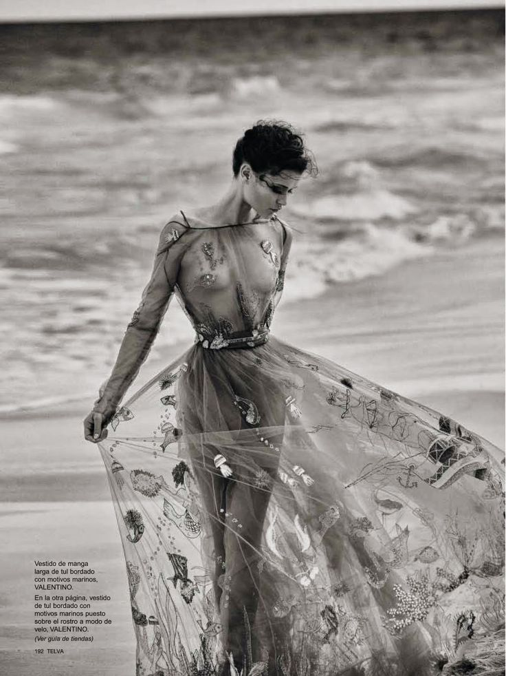 """Queen of the Seas"" Chloe Lecareux for Telva Spain - Valentino"