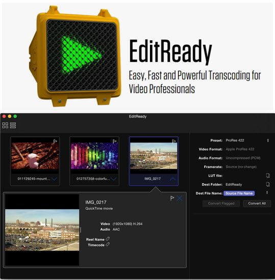 EditReady Pro Video File Converter Now Ready for Samsung NX1 HEVC (H.265) Files - http://blog.planet5d.com/2015/04/editready-pro-video-file-converter-now-ready-for-samsung-nx1-hevc-h-265-files/