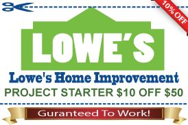 buy lowes coupons