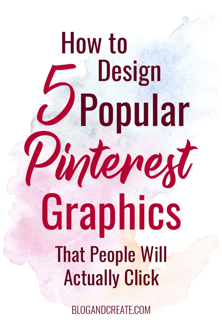 Graphics are important for promoting your blog on Pinterest. Learn how to create Pinterest graphics, how to brand your pins, and how to create 5 viral pin layouts. | How to Design 5 Popular Pinterest Graphic Layouts That People Will Actually Click | pinterest design tips, pinterest tips, pinterest for bloggers, pinterest for beginners, pinterest marketing | #pinteresttips #bloggingtips via @blogandcreate