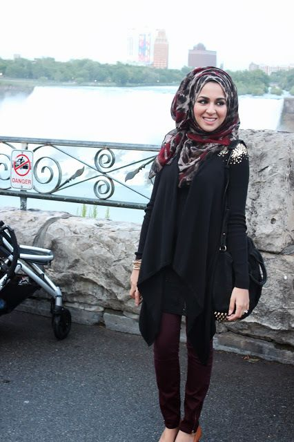 Dark colors are my favorite. #hijab