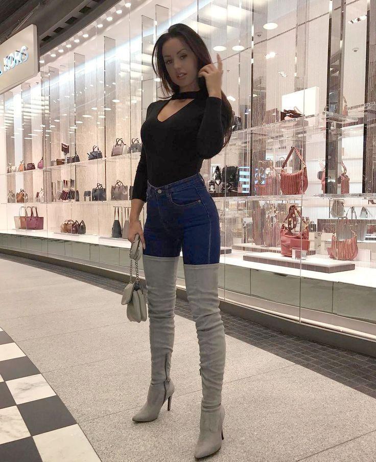 """Résultat de recherche d'images pour """"women in overknee boots"""" #hothighheelsgirls"""