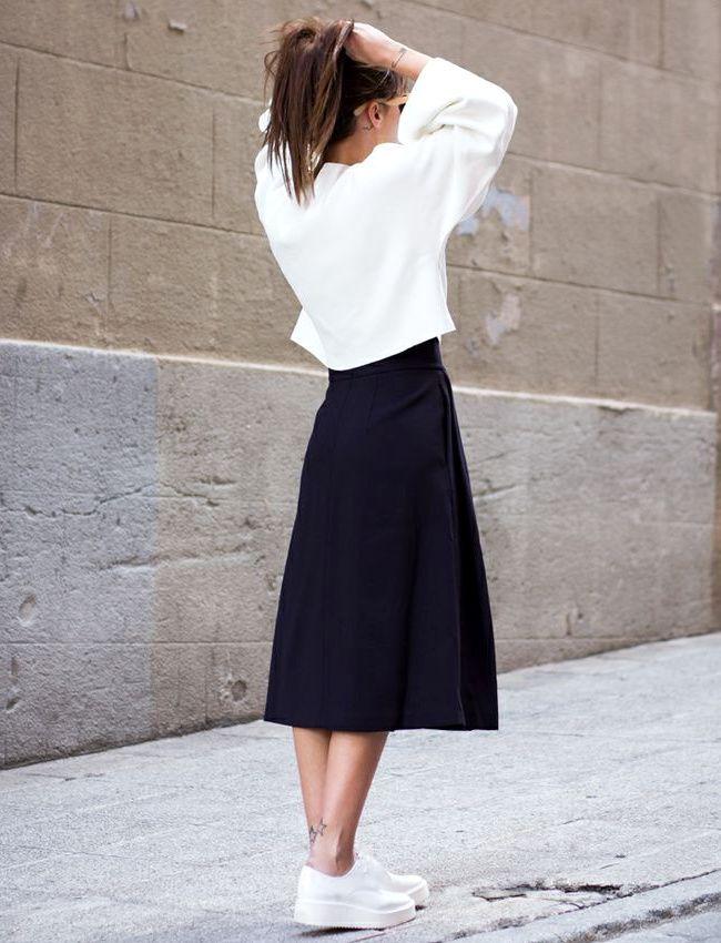 Le parfait look noir et blanc #57