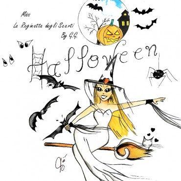 Miss Halloween (la reginetta ... degli scarti) un breve racconto by G.G. con illustrazioni ViolaV Blog di Violetta | ViolaV