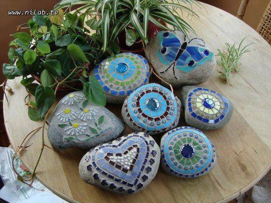 dekorative Steine <3