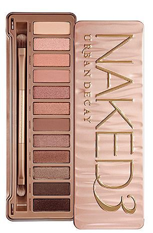 Urban Decay's Naked3. Best eye shadow I've ever used.