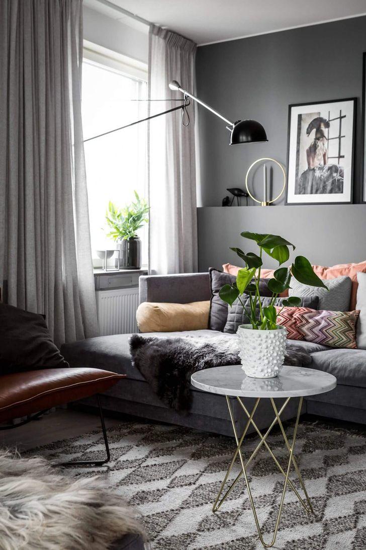 Простая и уютная квартира в Стокгольме   Пуфик - блог о дизайне интерьера