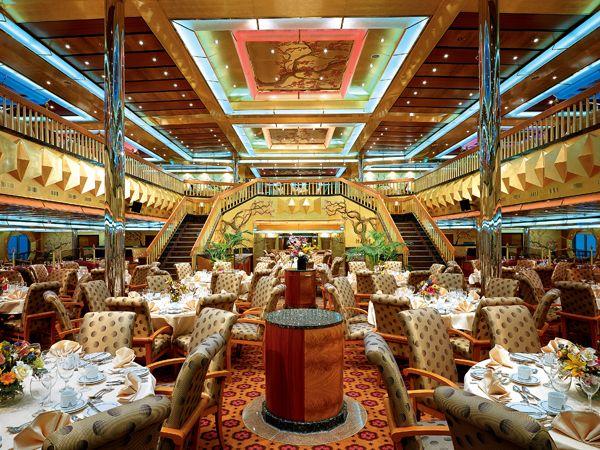Golden Restaurant - Carnival Glory
