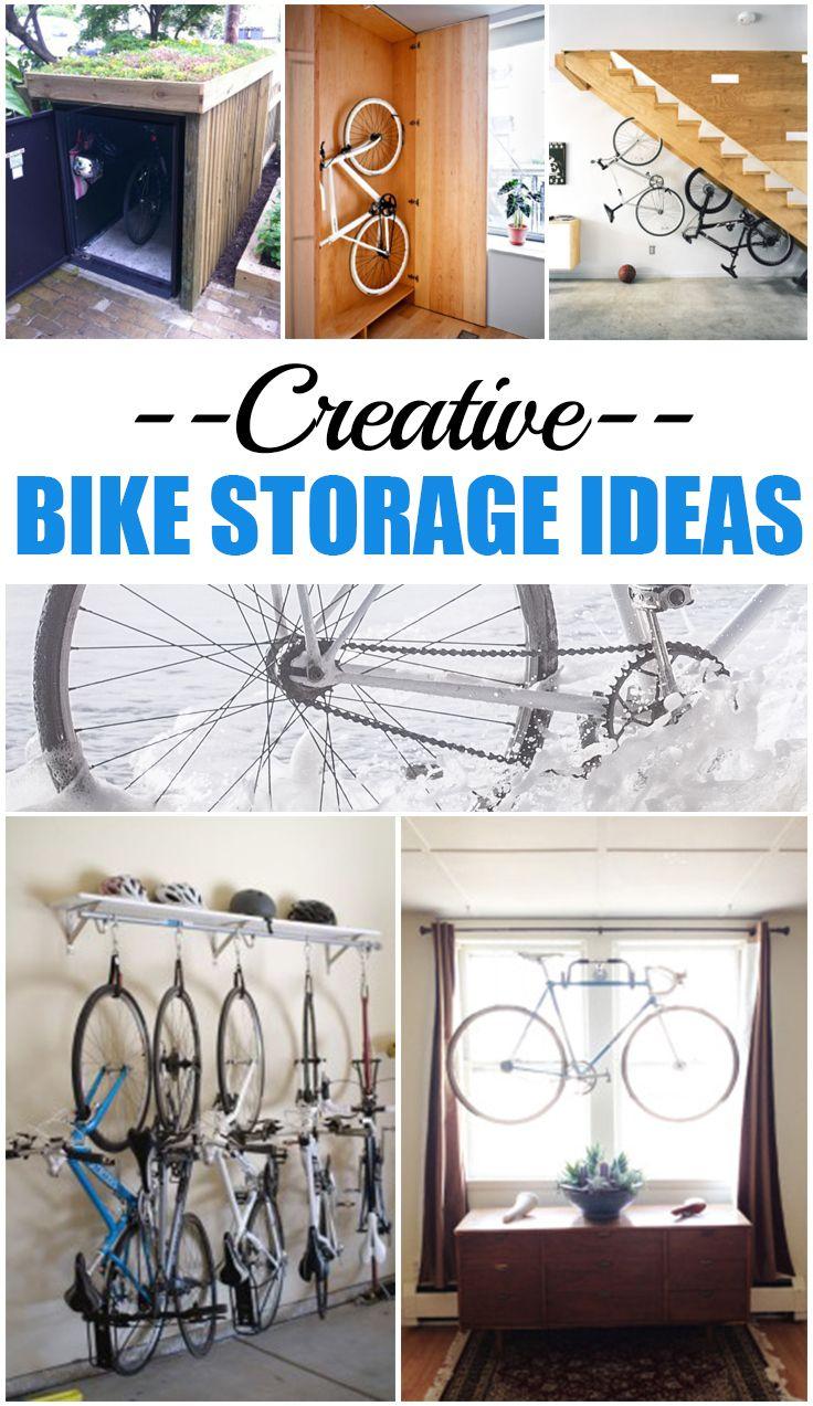 Creative Bike Storage Ideas Creative Bike Storage And