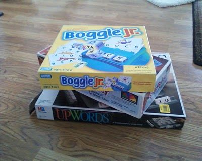 Thrifty Teaching Aids! with board games.  This is one creative mom.