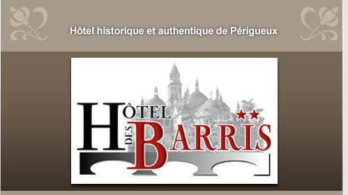 Hôtel des Barris - Hôtel Périgueux centre - Un hôtel historique