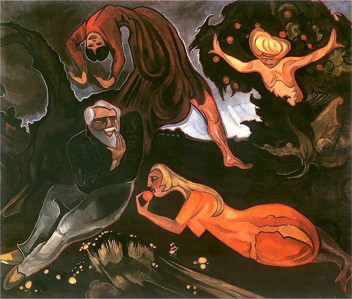 Stanisław Ignacy Witkiewicz | The Temptation of St. Anthony, 1916