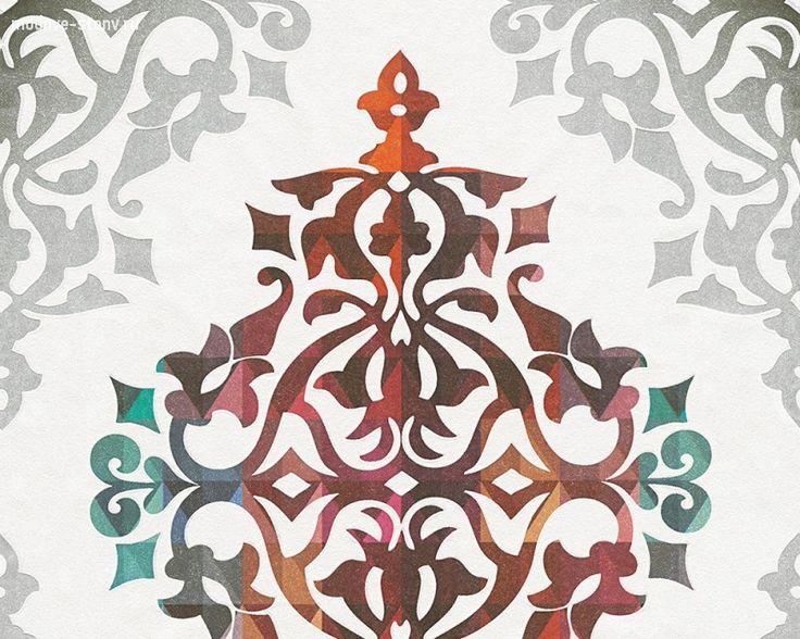 Купить обои «Flock 4 956141» от бренда «AS Creation». Магазин «Модные стены» – более 500 цветов и оттенков обоев.