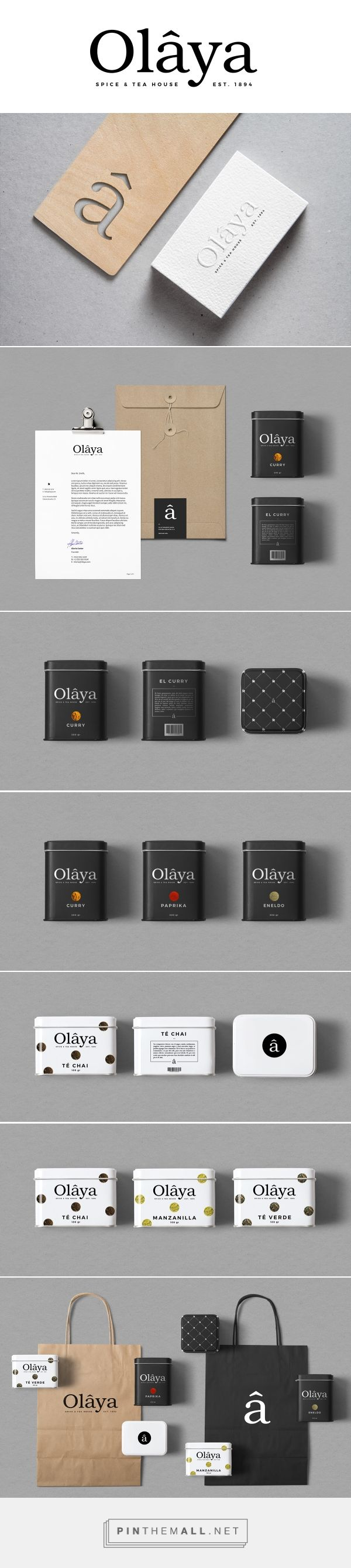 Olâya Branding and Packaging by Elemasele on Behance   Fivestar Branding –…