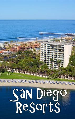 San Diego California Vacation Resorts. Family, Spa, and Golf resorts near the best beaches and things to do. ( USA Resort Reviews) Catamaran Resort Hotel and Spa