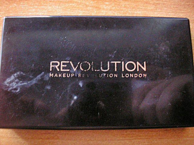Makijaż to malowanie piękna na twarzy...: Konturowanie z Makeup Revolution - zestaw ICONIC B...