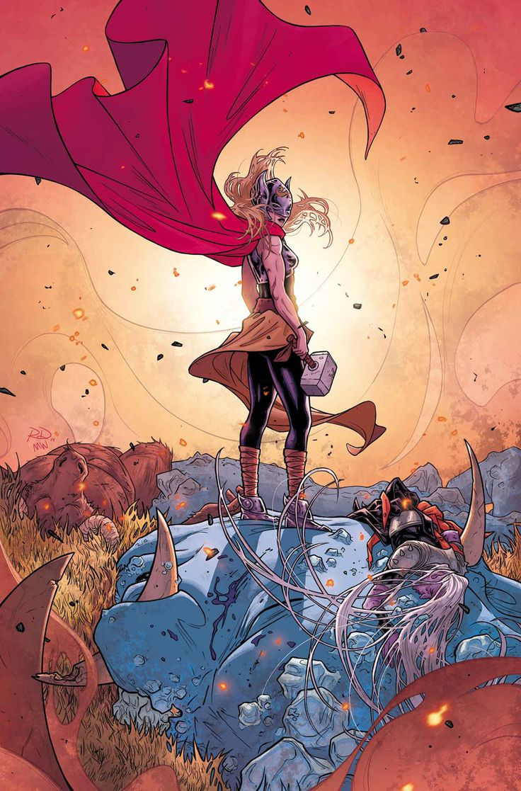 Thor #5 by Russell Dauterman