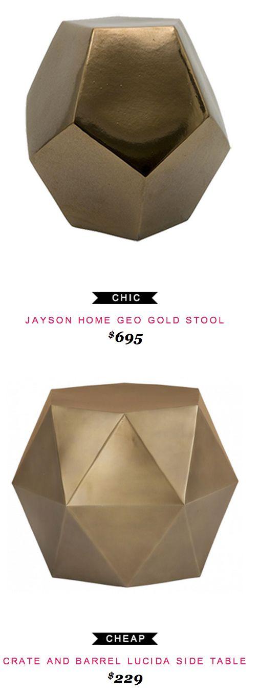 @horchow Interlude Tatum Acrylic Side Table $2299 Vs @wayfair Interlude  Lila End Table $530 | Copy Cat Chic | Chic Finds | Pinterest | Acrylic Side  Table, ...