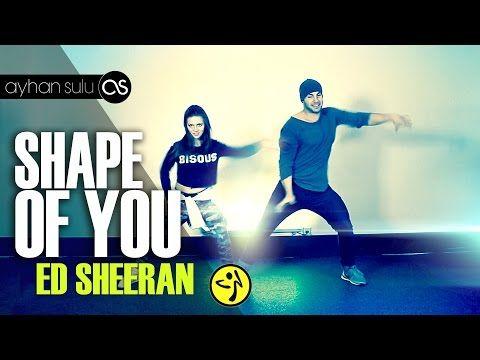 Zumba SHAPE OF YOU - ED SHEERAN // by A. SULU & ANTONIA NATASCHA - YouTube