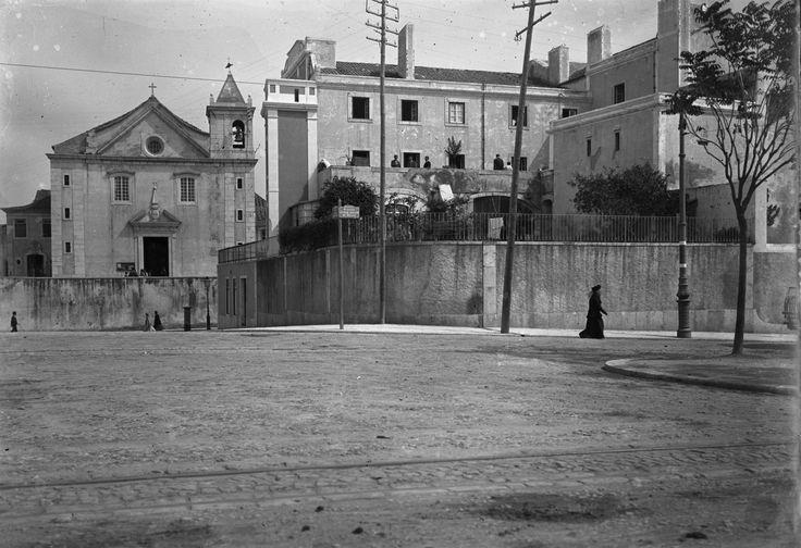 Igreja de S. Sebastião da Pedreira, Lisboa (J. Benoliel, c. 1909)