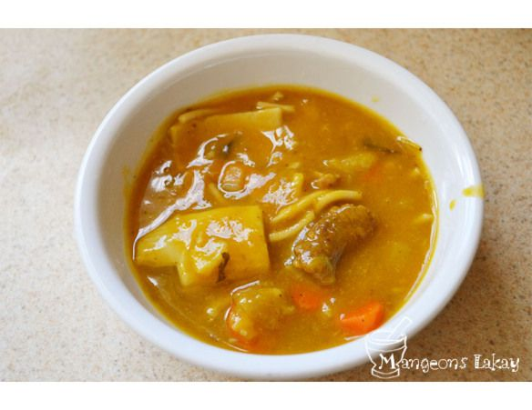 Haitian Yellow Squash Soup; our Independence Day Soup!!