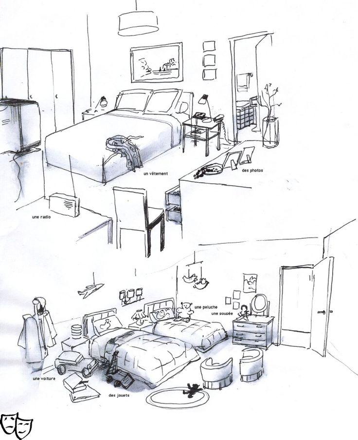 deux chambres.