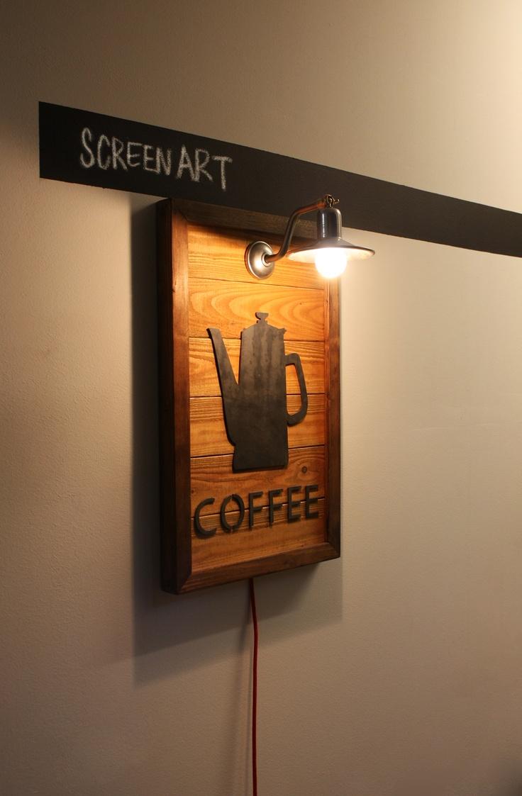 a wall-hanging Lighting