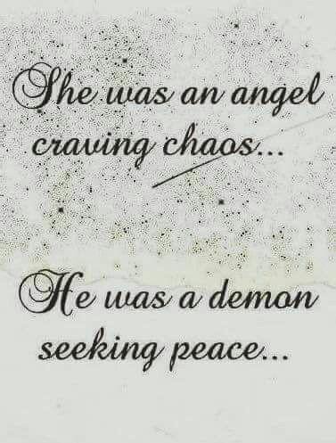 ☺ : !!!! : Angel vs Demon
