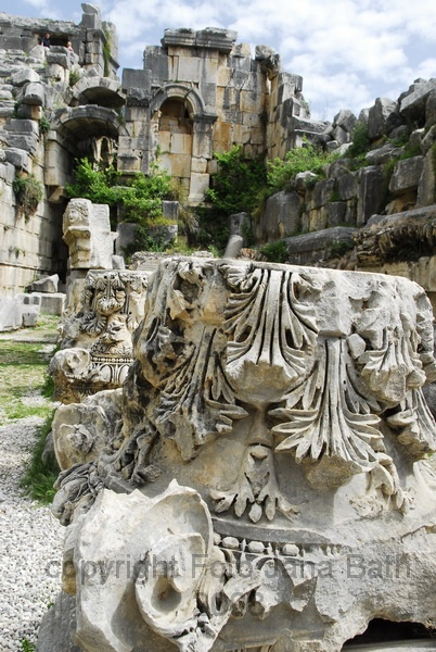 Ancient site of Myra, Lycia, Turkey (by photo Jana Bath)