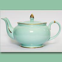 Christiana 'Vintage' Teal Teapot