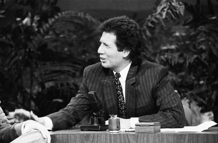 Garry Shandling on The Tonight Show Starring Johnny Carson on January 14, 1987.