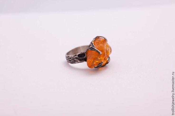 Купить Old wood: mark 1 - кольца ручной работы, кольца из серебра, необычное, лето