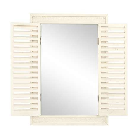 Chalk Cottage Shutter Mirror