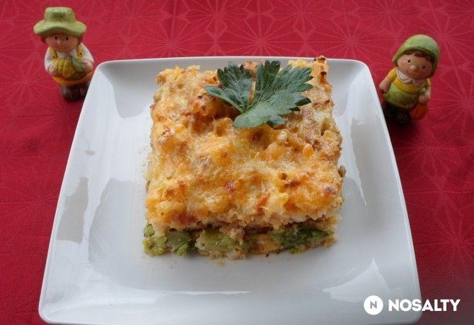 Diétás rakott brokkoli