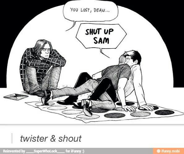 """was thAT ANOTHER GODDAMN TWIST AND SHOUT REFERENCE IM GOING TO SET MYSELF ON FIRE I MEAN ARE YOU FUCKING SERIOUS """"TWISTER AND SHOUT""""??"""