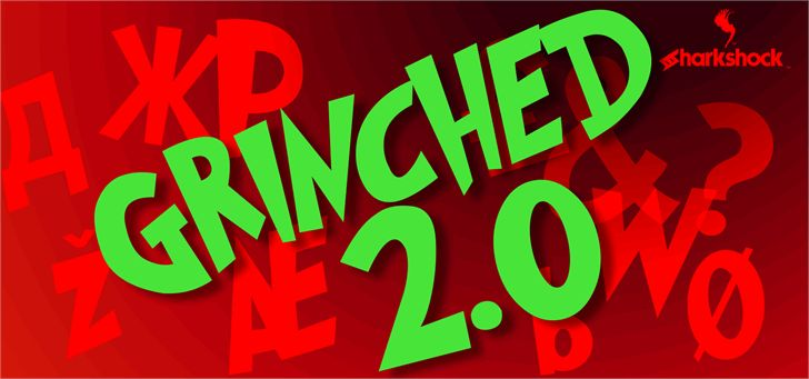 Image for Grinched 2.0 font