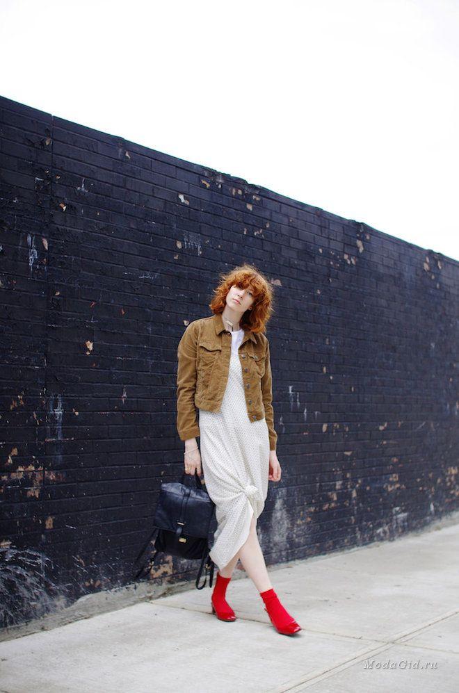 Уличная мода: Модный блогер Claire Geist: первое знакомство