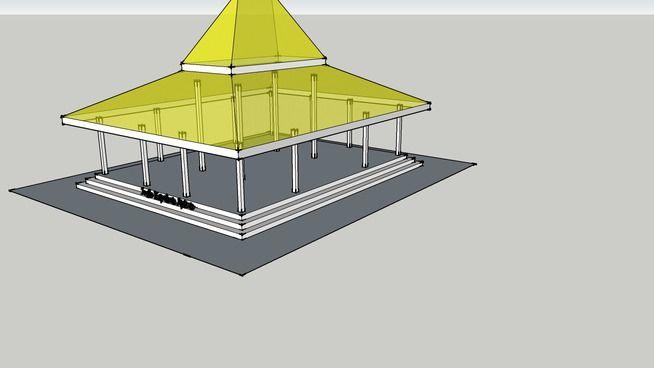 Rumah Jawa - Joglo Kepuhan Apitan - 3D Warehouse