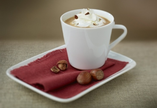 Hazelnut coffee Chiboust