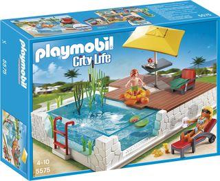 Playmobil City Life Zwembad met terras (5575) ...