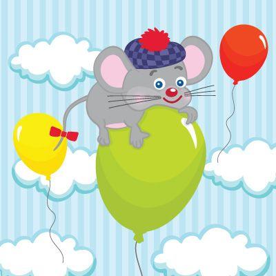 Ποντικάκι σε μπαλόνι | Παιδικά